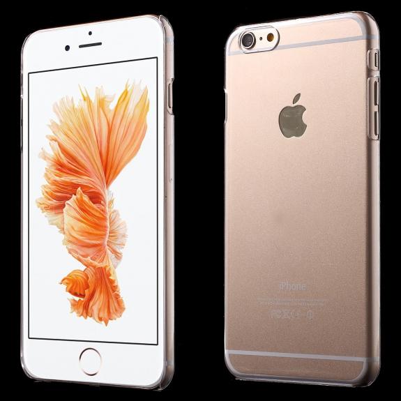 AppleKing křišťálově průhledný plastový kryt na Apple iPhone 6 / 6S - možnost vrátit zboží ZDARMA do 30ti dní