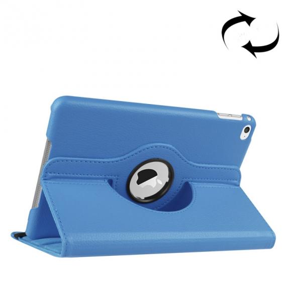 AppleKing pouzdro s otočným držákem pro iPad mini 4 / 5 - modré - možnost vrátit zboží ZDARMA do 30ti dní