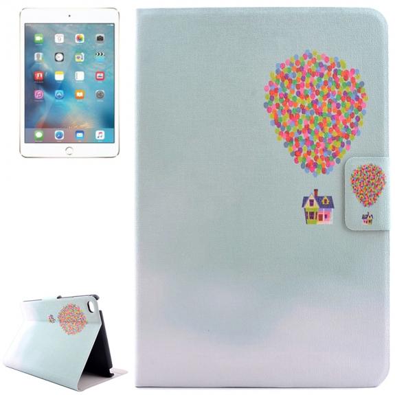 AppleKing pouzdro / kryt s integorovaným stojánkem pro iPad mini 4 - vzhůru do oblak - možnost vrátit zboží ZDARMA do 30ti dní