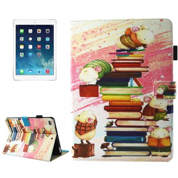 AppleKing pouzdro s integrovaným stojánkem pro iPad mini 4 / 5 - nezbedné myšky - možnost vrátit zboží ZDARMA do 30ti dní