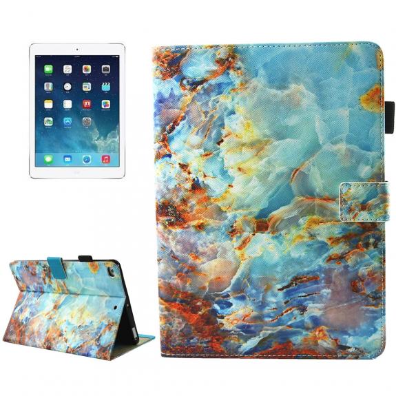 AppleKing pouzdro s integrovaným stojánkem pro iPad mini 4 / 5 - tyrkysový kámen - možnost vrátit zboží ZDARMA do 30ti dní