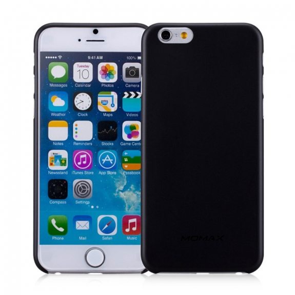 MOMAX Ultratenký 0.3 mm kryt na Apple iPhone 6 / 6S - černý