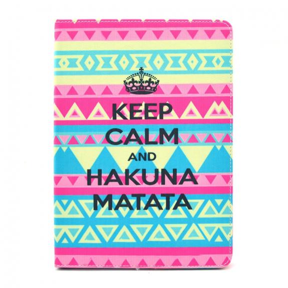 AppleKing ochranný obal se stojánkem pro iPad mini 4 / 5 - Hakuna Matata - možnost vrátit zboží ZDARMA do 30ti dní