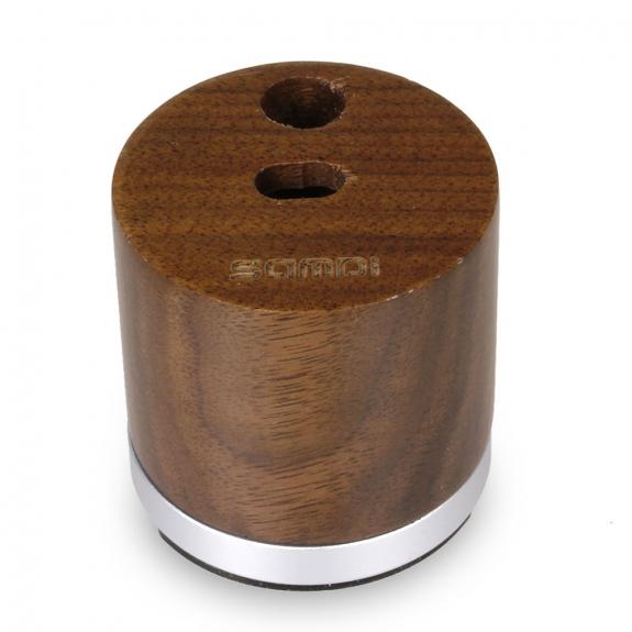 SAMDI nabíjecí stojánek pro Apple Pencil - tmavé dřevo - možnost vrátit zboží ZDARMA do 30ti dní