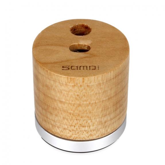 SAMDI nabíjecí stojánek pro Apple Pencil - světlé dřevo - možnost vrátit zboží ZDARMA do 30ti dní