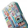 Peněženkové pouzdro se sloty na karty pro Apple iPhone 6 / 6S - 24 Hours in New York