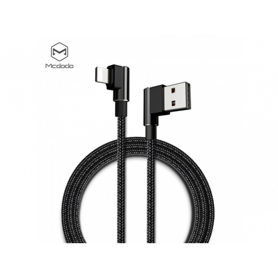 MCDODO USB kabel s lightning konektorem pro Apple iPhone / iPad / iPod - 1.2m - černý - možnost vrátit zboží ZDARMA do 30ti dní