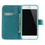 Peněženkové pouzdro se stojánkem a sloty na karty pro Apple iPhone 6 / 6S - Rozkvetlá švestka