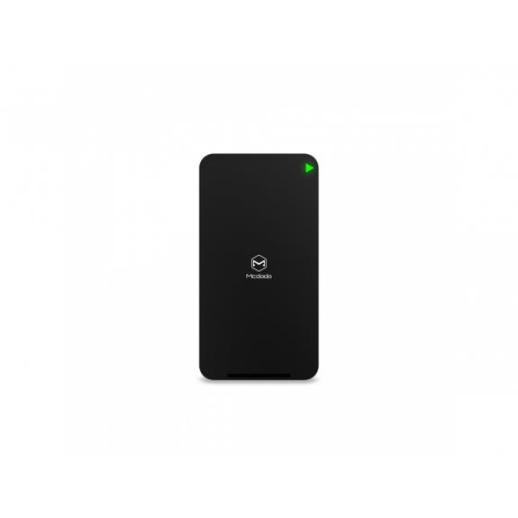MCDODO bezdrátová obdélníková nabíječka /stojánek pro iPhone - černá - možnost vrátit zboží ZDARMA do 30ti dní