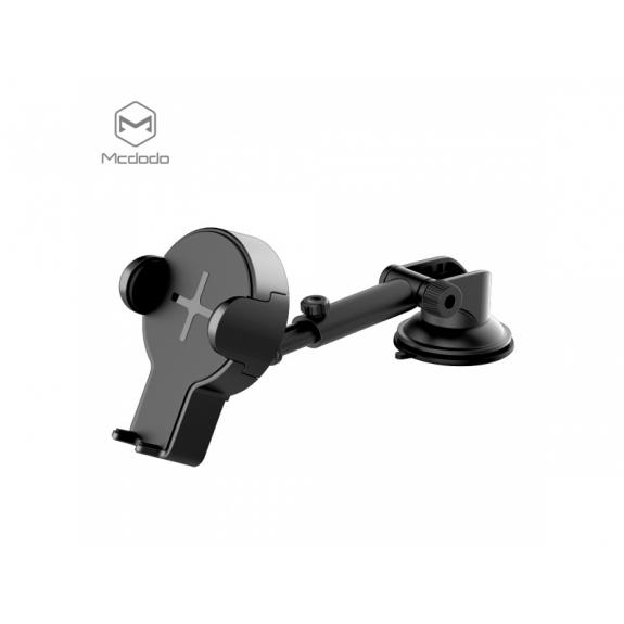 MCDODO držák do auta s bezdrátovým nabíjením pro Apple iPhone - černý - možnost vrátit zboží ZDARMA do 30ti dní