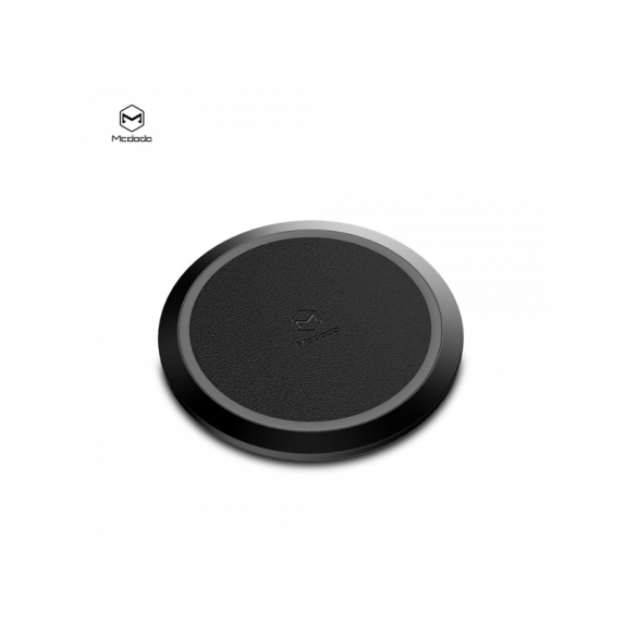 MCDODO bezdrátová nabíječka pro Apple iPhone - černá - možnost vrátit zboží ZDARMA do 30ti dní