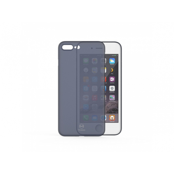 MCDODO ochranný plastový kryt pro Apple iPhone 7 Plus / 8 Plus - modrý - možnost vrátit zboží ZDARMA do 30ti dní