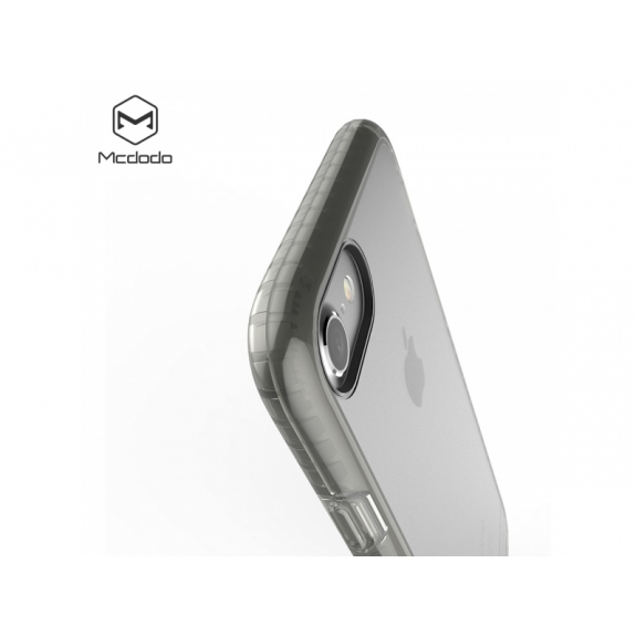 MCDODO ochranný plastový obal pro Apple iPhone 7 Plus / 8 Plus - průsvitný černý - možnost vrátit zboží ZDARMA do 30ti dní