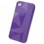 Ochranné pouzdro pro iPhone 4 / 4S - fialové