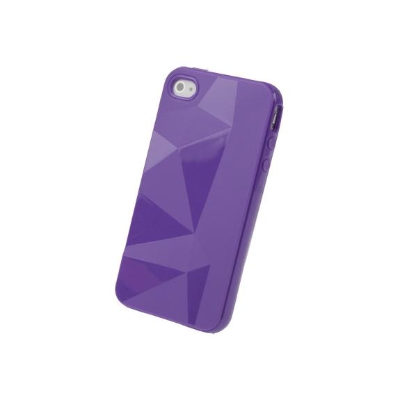 AppleKing ochranné pouzdro pro iPhone 4 / 4S - fialové - možnost vrátit zboží ZDARMA do 30ti dní