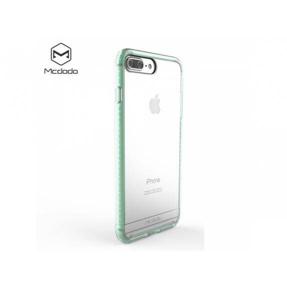 MCDODO ochranný plastový obal pro Apple iPhone 7 Plus / 8 Plus - průsvitný zelený - možnost vrátit zboží ZDARMA do 30ti dní