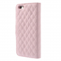 Pouzdro Camellia se sloty na karty pro Apple iPhone 6 / 6S - růžové