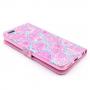 Peněženkové pouzdro se stojánkem a sloty pro Apple iPhone 6 / 6S - Květinový vzor