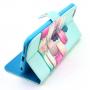 Pouzdro / kryt se sloty na karty pro Apple iPhone 6 / 6S - Makrónky