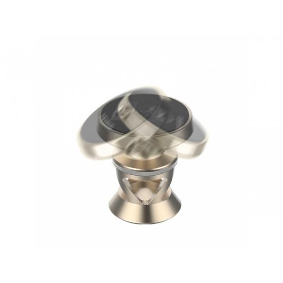 MCDODO magnetický nalepovací držák do auta pro Apple iPhone - zlatý - možnost vrátit zboží ZDARMA do 30ti dní