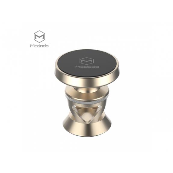 MCDODO magnetický nalepovací držák do auta pro iPhone - zlatý - možnost vrátit zboží ZDARMA do 30ti dní