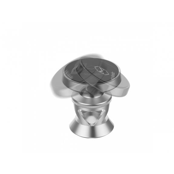 MCDODO magnetický nalepovací držák do auta pro Apple iPhone - šedý - možnost vrátit zboží ZDARMA do 30ti dní