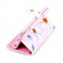 Peněženkové pouzdro s klipem pro Apple iPhone 6 / 6S - Květiny