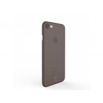 MCDODO ochranný plastový kryt pro Apple iPhone 7 / 8 - průsvitný černý