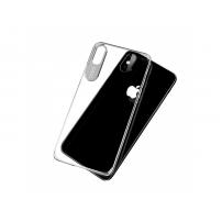 MCDODO ochranný kryt s hliníkovou vrstvou pro ochranu kamery pro Apple iPhone X - průsvitný