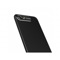 MCDODO ochranný kryt s hliníkovou vrstvou pro ochranu kamery pro Apple iPhone 7 Plus / 8 Plus - černý