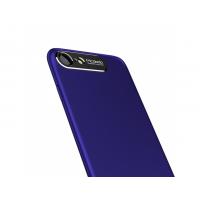 MCDODO ochranný kryt s hliníkovou vrstvou pro ochranu kamery pro Apple iPhone 7 Plus / 8 Plus - modrý