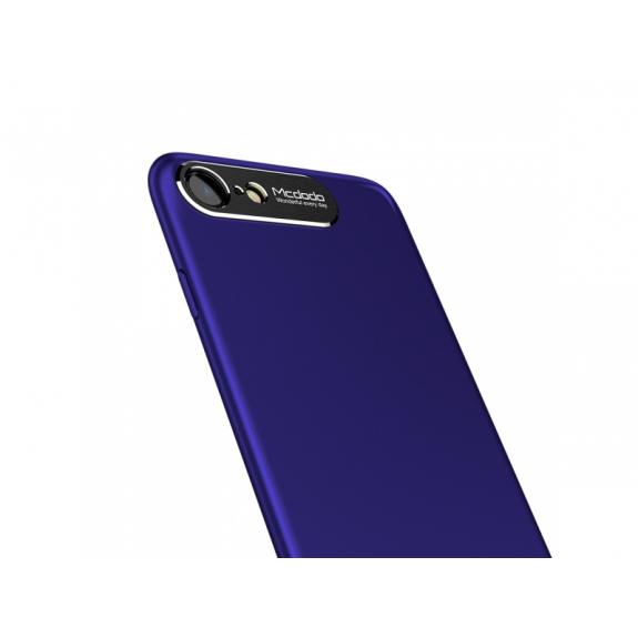 MCDODO ochranný kryt s hliníkovou vrstvou pro ochranu kamery pro Apple iPhone 7 Plus / 8 Plus - modrý - možnost vrátit zboží ZDARMA do 30ti dní