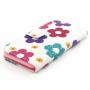 Pouzdro se sloty na karty pro Apple iPhone 6 / 6S - Květinový vzor