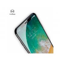 MCDODO ochranné 3D sklo s měkkými okraji pro Apple iPhone X - černé