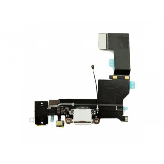 AppleKing napájecí a datový konektor s jack konektorem a flex kabelem pro Apple iPhone SE - bílá - možnost vrátit zboží ZDARMA do 30ti dní