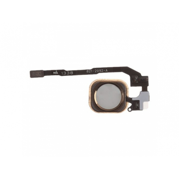 AppleKing náhradní Home Button s flex kabelem pro Apple iPhone SE - růžově zlatý (Rose Gold) - možnost vrátit zboží ZDARMA do 30ti dní
