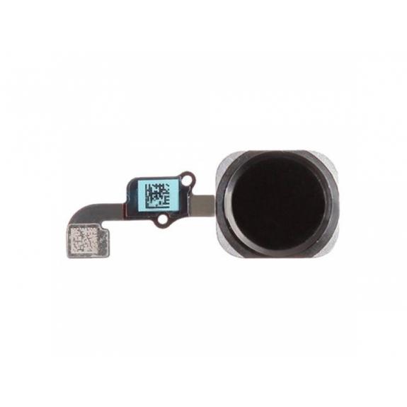 AppleKing náhradní Home Button s flex kabelem pro Apple iPhone 6 Plus - vesmírně šedý (Space Gray) - možnost vrátit zboží ZDARMA do 30ti dní