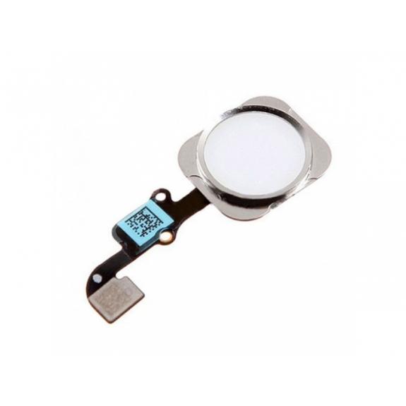 AppleKing náhradní Home Button s flex kabelem pro Apple iPhone 6 - stříbrný - možnost vrátit zboží ZDARMA do 30ti dní