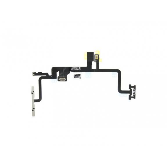AppleKing flex kabel s mikrospínačem Power, bleskem kamery a vrchním mikrofonem pro Apple iPhone 7 - možnost vrátit zboží ZDARMA do 30ti dní