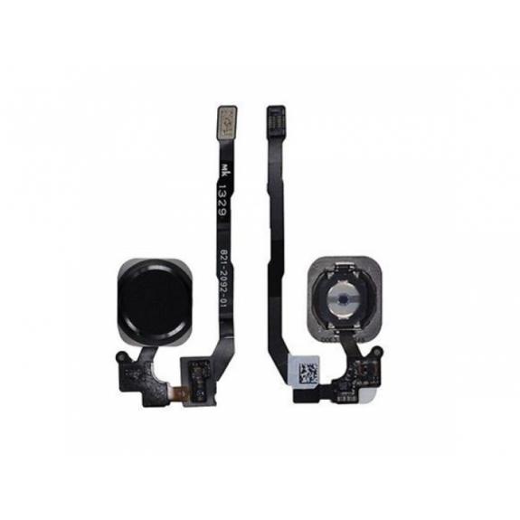 AppleKing náhradní Home Button s flex kabelem pro Apple iPhone 5S - vesmírně šedý (Space Gray) - možnost vrátit zboží ZDARMA do 30ti dní