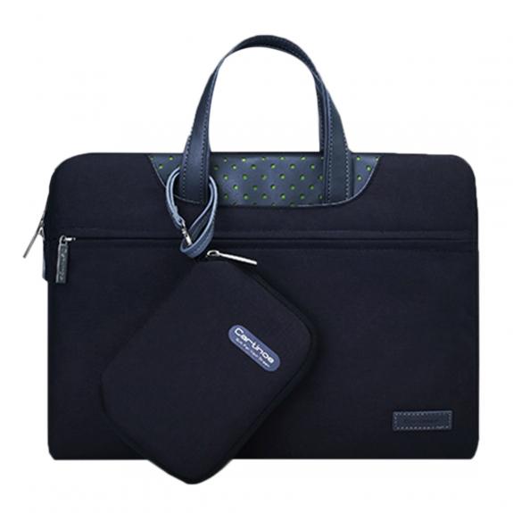 """Cartinoe elegantní brašna s malou peněženkou pro MacBook Pro 15"""" - černá - možnost vrátit zboží ZDAR"""