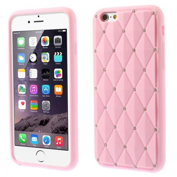 AppleKing silikonový kryt na Apple iPhone 6 / 6S - růžový - možnost vrátit zboží ZDARMA do 30ti dní