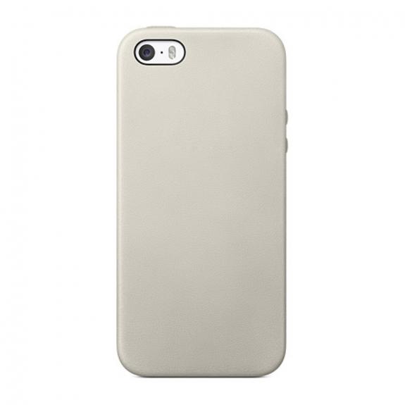AppleKing elegantní kryt na Apple iPhone 5 / 5S / SE - šedý - možnost vrátit zboží ZDARMA do 30ti dní