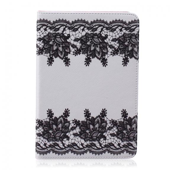 AppleKing pouzdro s integrovaným stojánkem pro iPad mini 1 / 2 / 3 - černá krajka - možnost vrátit zboží ZDARMA do 30ti dní