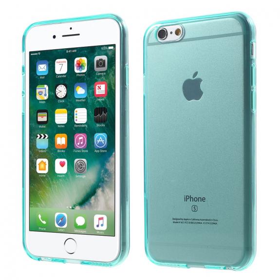 AppleKing lesklý kryt na Apple iPhone 6 / 6S - tyrkysový - možnost vrátit zboží ZDARMA do 30ti dní
