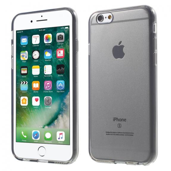 AppleKing lesklý kryt na Apple iPhone 6 / 6S - šedý - možnost vrátit zboží ZDARMA do 30ti dní