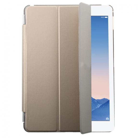 AppleKing plastové pouzdro Smart Cover pro Apple iPad Air 2 - zlaté - možnost vrátit zboží ZDARMA do 30ti dní