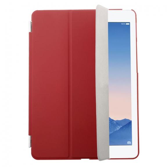 AppleKing plastové pouzdro Smart Cover pro Apple iPad Air 2 - červené - možnost vrátit zboží ZDARMA do 30ti dní