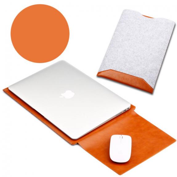 """SOYAN obálka s podložkou pro Apple MacBook 13"""" - světle hnědá - možnost vrátit zboží ZDARMA do 30ti dní"""