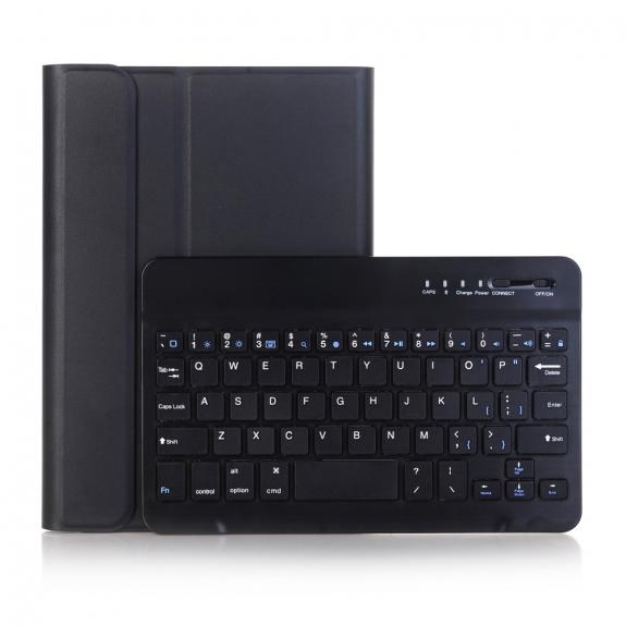 AppleKing pouzdro s odnímatelnou Bluetooth klávesnicí pro iPad Mini 4 / 5 - černé - možnost vrátit zboží ZDARMA do 30ti dní